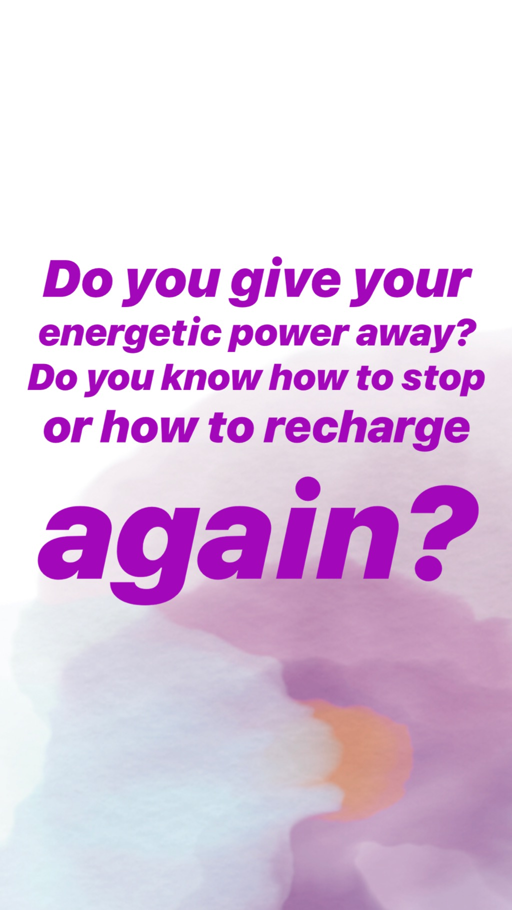 Power giving